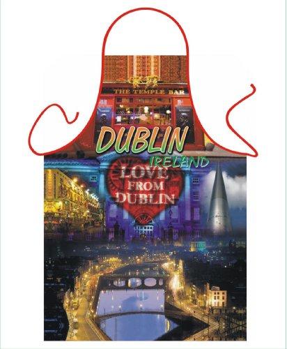 ICONIC SCHÜRZEN, NOVLETY DUBLIN IRISH KOCHSCHÜRZE, SCHÜRZE UND GRILL/KOCHSCHÜRZE, GRILLSCHÜRZE IRISCHER TRACHT, GESCHENK (Fancy Dress Dublin)