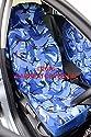 Smart Roadster–blau Camouflage Wasserdicht Auto Sitzbezüge, 2x Fronten