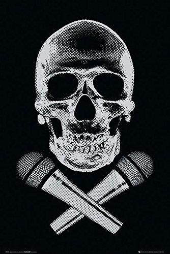 Póster Steez 'DJ Skull/Calavera DJ' (61cm x 91,5cm) + 1 Póster...