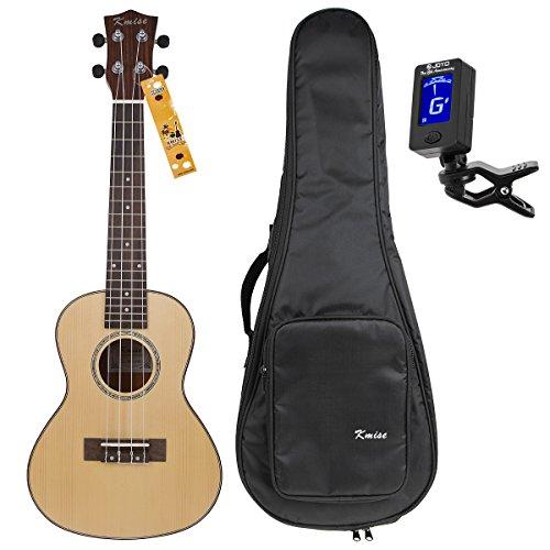 kmise-konzert-ukulele-uke-acoustic-hawaii-gitarre-ukelele-mit-18-bnden-fichte-rosenholz-mit-ukulele-