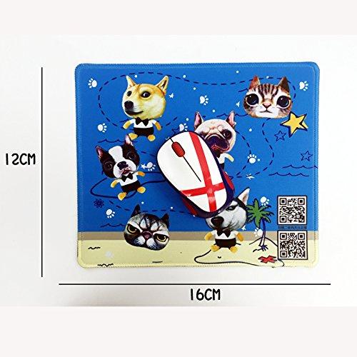 Cunguang Der Hund Maus Pad animation kreativen Geist Verschmutzung kämpfende Methode Geburtstagsgeschenk Meng Da yo (Tinkerbell Vase)