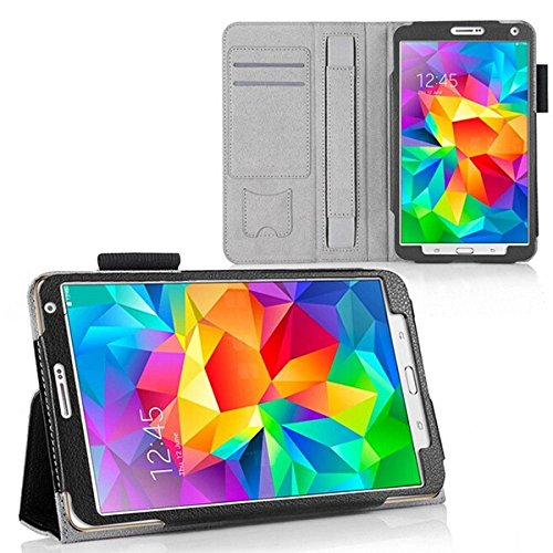 Turtle Flip Cover For Galaxy Tab S 8.4 Lte Sm-t705 Leather Kickstand Case Cover For Samsung Galaxy Tab S 8.4 Lte Sm-t705 (black)