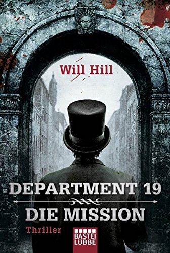 Buchseite und Rezensionen zu 'Department 19' von Will Hill