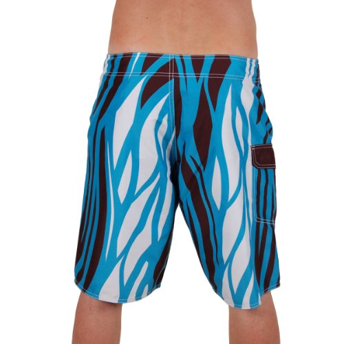 Light Herren Boardshort Zeb Electric Blue