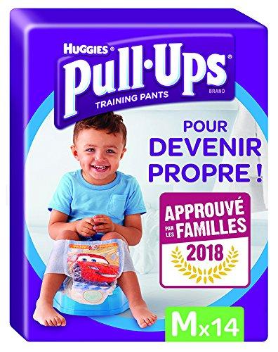 2 paquets de 22 culottes 16-23 kg Huggies Pull-Ups Fille Taille 6//Large Couche-Culotte dApprentissage de la Propret/é Disney Princesses x44