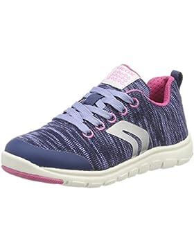 Geox J Xunday C, Zapatillas para Niñas