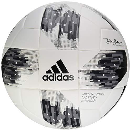 adidas Performance MLS Top Training NFHS Ball, Weiß, Größe 5