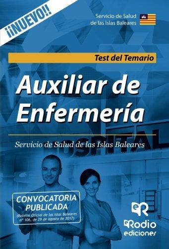 Auxiliar de Enfermeria del Servicio de Salud de las Islas Baleares. Test del Temario