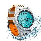 Sportuhren Aktivitätstracker von ROGUCI IP68 Wasserdicht Fitness Bluetooth Uhr Smartwatch mit Stoppuhr Weck Höhenmesser Barometer/UV Tracker und Anruf/Erinnerung für Android iOS Herren Damen