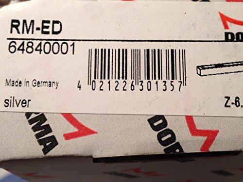 Preisvergleich Produktbild Dorma RM-ED 64840001 Rauchmelder Sturzmelder Contur - Design silber