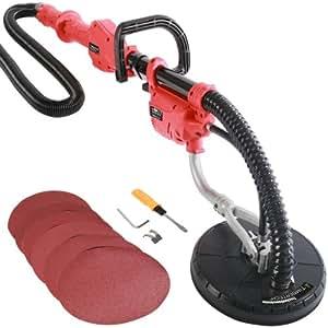 Timbertech® Ponceuse pour mur/paroi avec perche télescopique, 750W, avec 6disques abrasifs