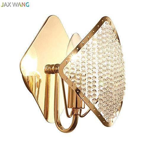 ost Moderne Luxusgoldwandleuchte Hochwertige Kristall Wandleuchten Für Wohnzimmer Schlafzimmer Nachttischlampe Innenleuchten Dekoration {Gold} ()