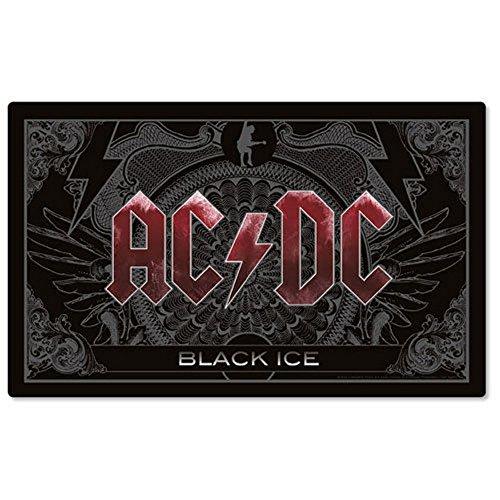 AC DC-Tovaglietta americana-Black Ice-Logo
