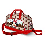 Karactermania Minnie Mouse Muffin-Pocket Sports Bag Borsa sportiva per bambini, 45 cm, Marrone (Brown)