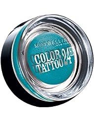 Maybelline Color Tattoo 24h Gel Ombre à Paupières en Crème 20 Turquoise Forever 4 g