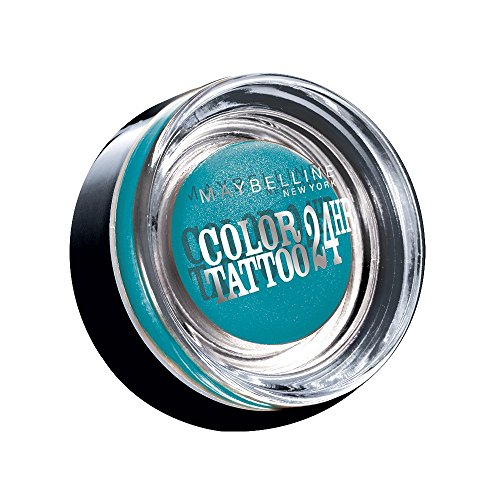 Maybelline New York Lidschatten Eyestudio Color Tattoo 24h Turquise Forever 20 / Gel-Cream Eyeshadow...