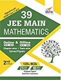 39 JEE Main Mathematics Online (2018-2012) & Offline (2018-2002) Chapter-wise + Topic-wise Solved Papers