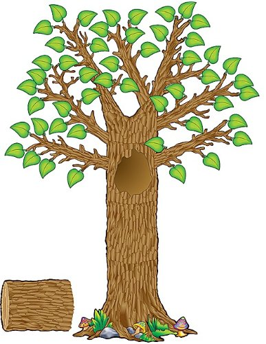 Teacher Created Ressourcen Seasonal Baum Bulletin Board Display Set (4405)
