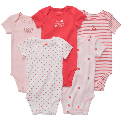 carter-de-5-bebe-fille-a-manches-courtes-bodies-rose-24-m