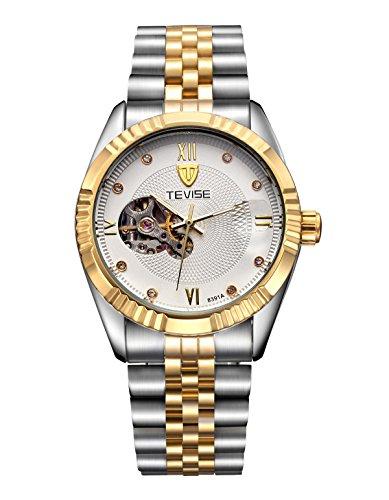 BIAOSHOU® Reloj Ocio Impermeable A Través De Calendario Completamente Automático Reloj De Men , 4