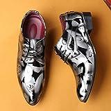 Hommes d'affaires Britanniques Pointu-Toe Chaussures Oxford Quatre Saisons Chaussures,Homme Chaussures De Mariage en Cuir Chaussures De Travail Bout Pointu
