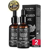 2 Paquetes Aceite Barba para Hombres Cuidado de La Barba, Ideal para El Crecimiento De La Barba, Suavizar, Hidratar.