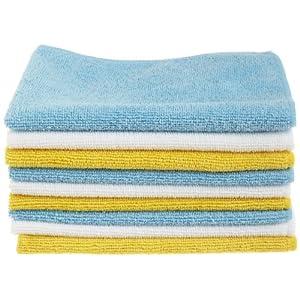 AmazonBasics Mikrofaser-Reinigungstücher, 24 Stück
