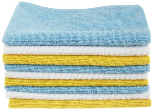 amazonbasics microfiber cleaning cloth AmazonBasics Microfiber Cleaning Cloth 51iqBRp4aWL