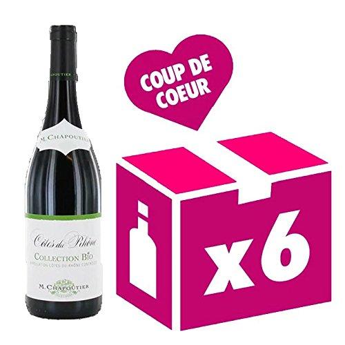 Chapoutier - Côte Du Rhône - Collection Bio - Carton 6 Bts