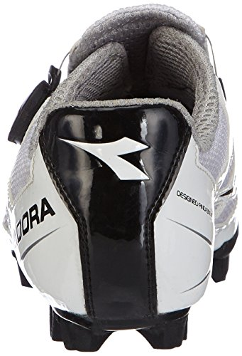 Diadora - X- Vortex, Scarpe da ciclismo Unisex – Adulto Weiß (weiß/schwarz 3510)