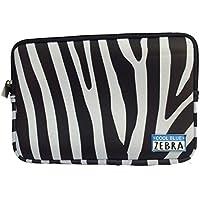 Cool Blue Zebra Neoprene Borsellino - sacchetto veramente utile