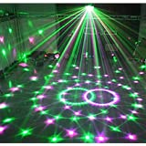 18W LED magic ball LED DMX lighting 6-colors crystal light