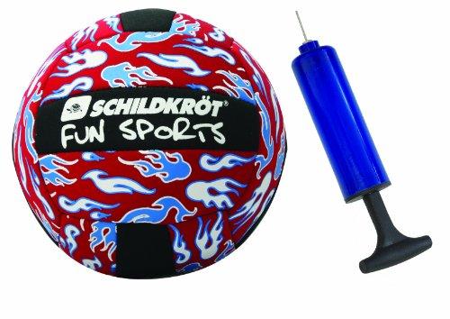 Preisvergleich Produktbild MTS Schildkröt Funsports Beachvolley Neopren,  rot-schwarz-blau-weiß,  21 cm,  Gr. 5