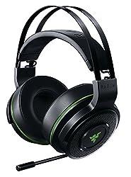 Razer Thresher Xbox One - Kabelloses Gaming Headset (50 mm Treiber, Ohrumschließendes Design und Ausziehbares undirektionales Mikrofon)