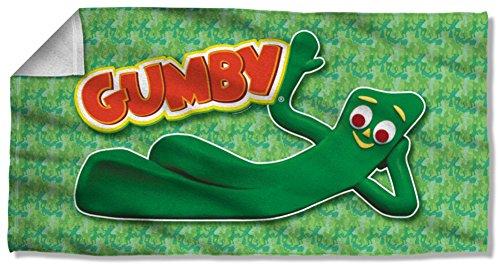 Gumby 1960 s Claymation serie TV animata refrigerazione-Telo da spiaggia