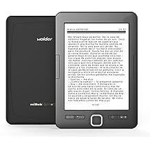 "miBuk Harmony - Tablet eBook (6"", e-ink PEARL, 8 GB), color negro"