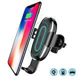 #10: Basesus Wireless Charger Gravity Car Mount with Fast Charging