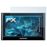 atFoliX Displayschutzfolie für Garmin nüvi 56LMT Schutzfolie - 3 x FX-Clear kristallklare Folie