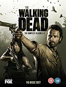 The Walking Dead - Season 1-4 [DVD] [2014]