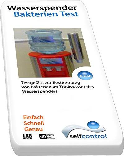 UW 5520 D 02 / Trinkwasser-Bakterien-Test für Wasserspender – 2 Test-Kit – einfach – schnell und genau Selfcontrol