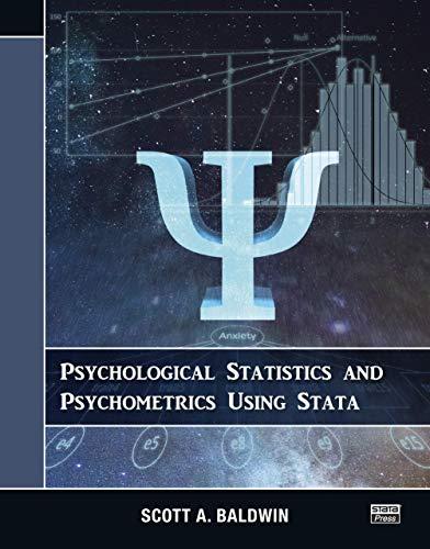 Psychological Statistics and Psychometrics Using Stata (English Edition)