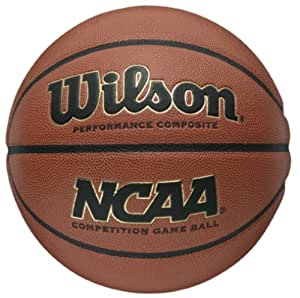 Wilson NCAA Indoor Outdoor Game Ballon de basketball Orange Taille 7