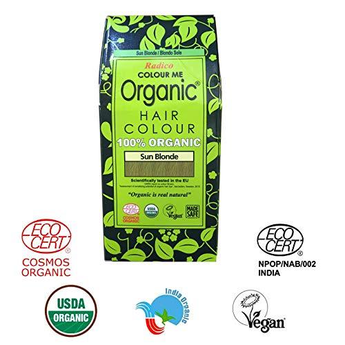Radico Colour Me - Tinte cabello 100% orgánico, certificado