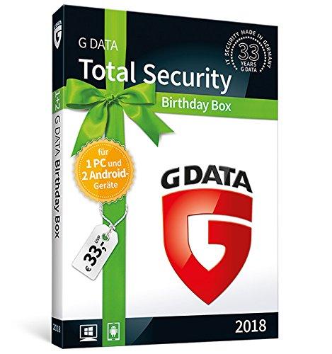 G DATA Total Security Birthday Box