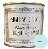 Duck Egg Blue Furniture Chalk Paint Great For Creating a Shabby Chic Style. 125 ML by Shabby Chic Furniture Paint