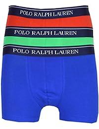 Ralph Lauren - Caleçon - Homme bleu Green,Blue,Red
