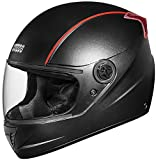#7: Studds Professional Full Face Helmet (Black and Red, XL)
