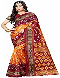 Sarees For Women Party Wear Offer Designer Sari New Collection Today Low Price Saree In Multi-coloured Bhagalpuri...