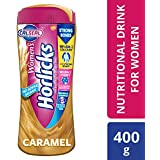 Horlicks Women's Health and Nutrition drink - 400g (Caramel flavor)