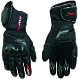 Guantes Invierno Moto Scooter Touring impermeable protectora acolchada Negro L